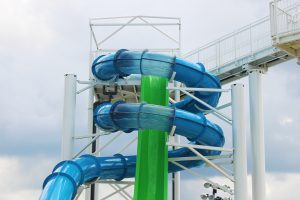 Freefall Drop Slide & Speed Tube Slide