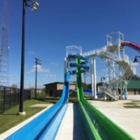 Freefall Drop Slide & Speed Tube SLide