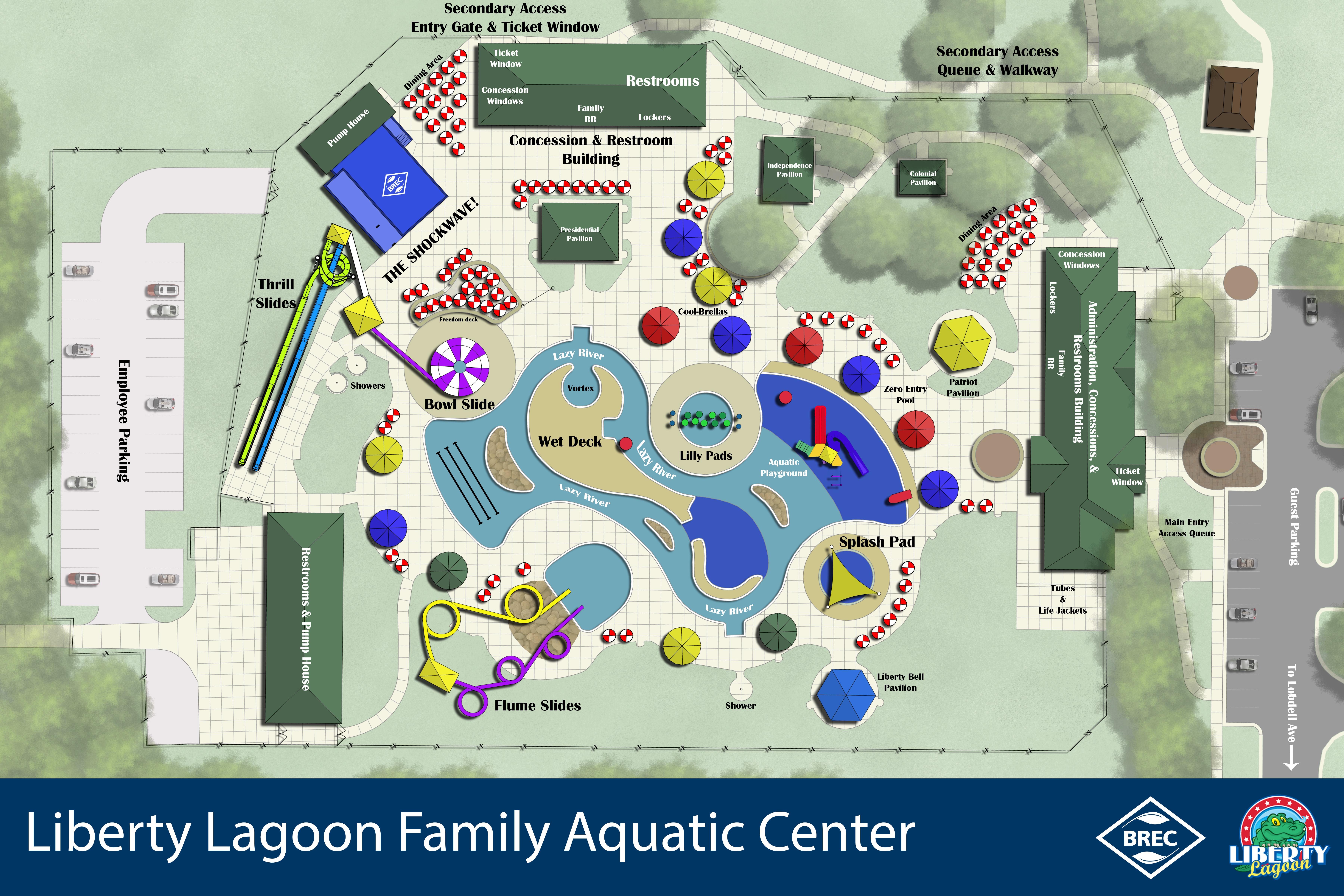 Lagoon Park Map Park Map – Liberty Lagoon